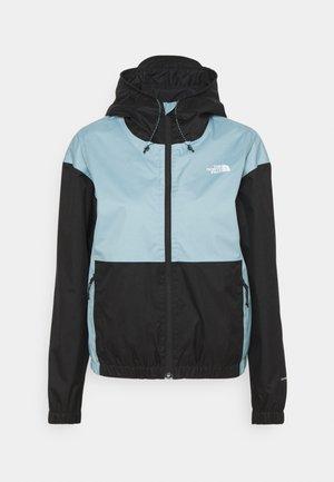 FARSIDE JACKET - Hardshell jacket - tourmaline blue/black