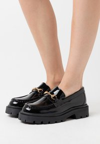 Selected Femme - SLFEMMA LOAFER  - Slip-ons - black - 0
