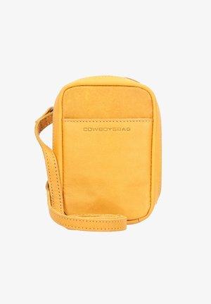 Across body bag - amber