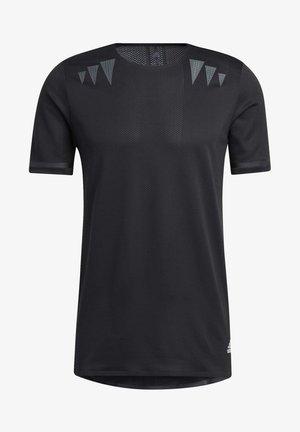 HEAT.RDY PRIME T-SHIRT - T-Shirt print - black