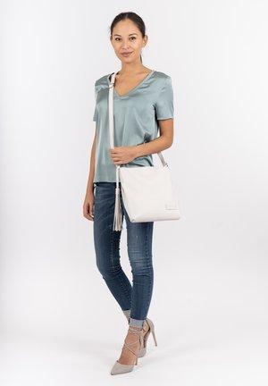 STACY - Handbag - white
