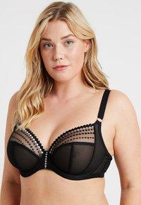 Elomi - MATILDA PLUNGE BRA - Underwired bra - black - 0