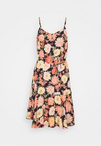 PIECES Tall - PCNYA SLIP BUTTON DRESS - Day dress - black - 0
