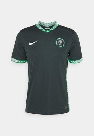NFF NIGERIA - Equipación de clubes - seaweed/white