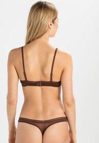 Gossard - GLOSSIES - Underwired bra - rich brown - 2