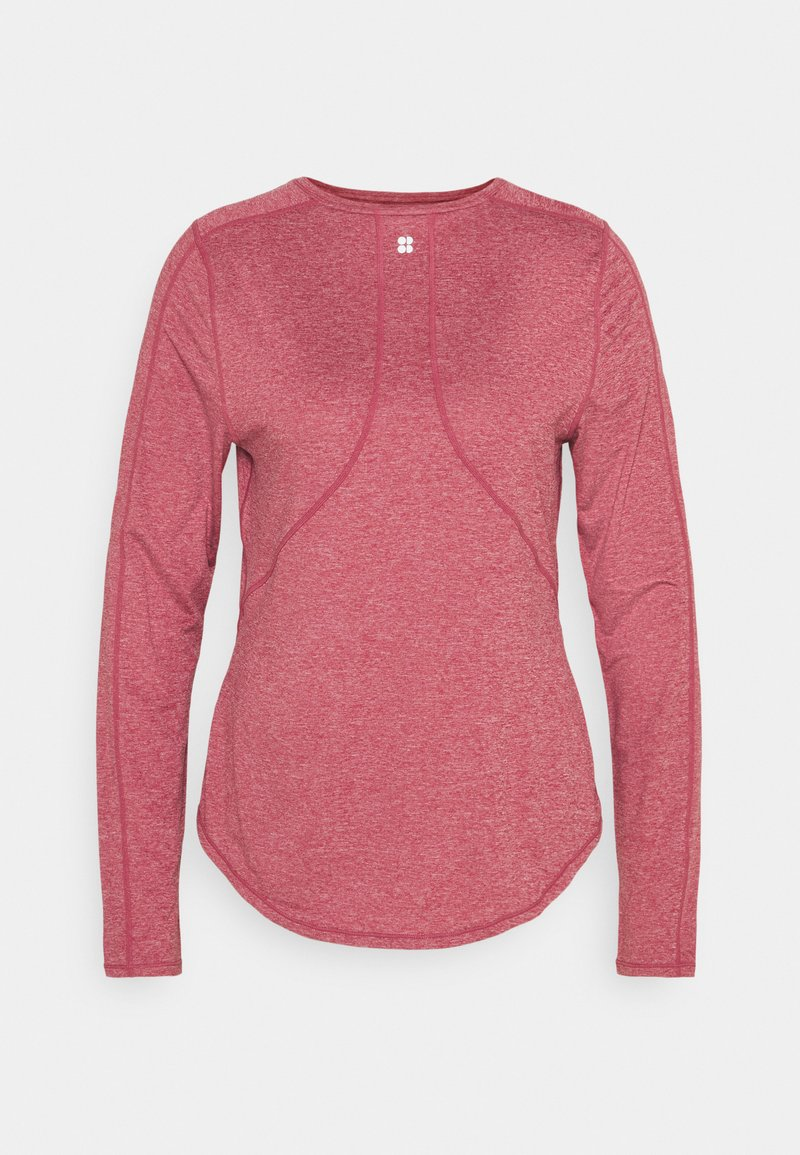 Sweaty Betty - ENERGISE WORKOUT - Long sleeved top - renaissance red