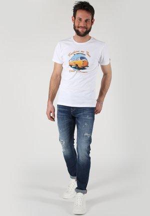 MARCEL SLIM - Slim fit jeans - hellblau