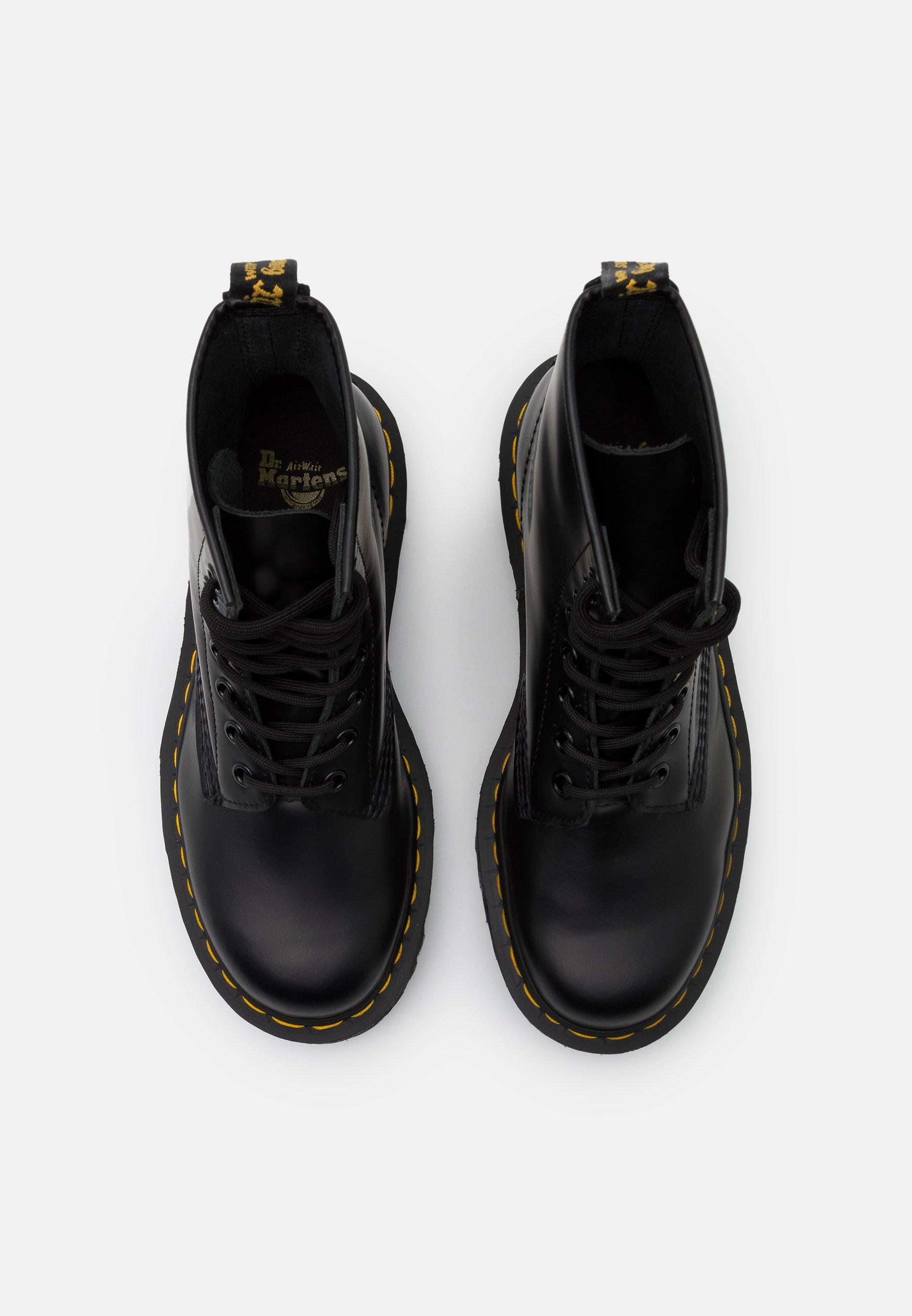 Dr. Martens 1460 Bex - Snørestøvletter Black Smooth