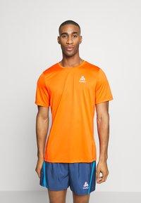 ODLO - ELEMENT LIGHT - T-shirt - bas - mandarin red - 0