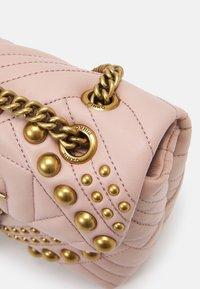 Pinko - LOVE MINI PUFF STUDS - Across body bag - cipria - 4