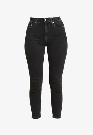 HIGH RISE - Jeans Skinny Fit - ca043 black