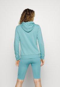 adidas Performance - Bluza rozpinana - mint ton/white - 2
