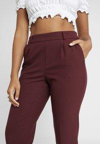 ONLY Petite - ONLFOCUS PANT - Trousers - tawny port - 6