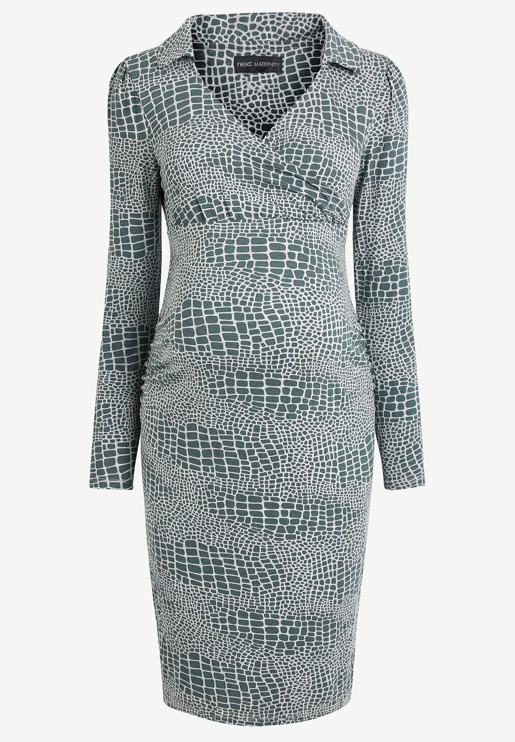 Damen MATERNITY COLLAR DETAIL JERSEY DRESS - Etuikleid