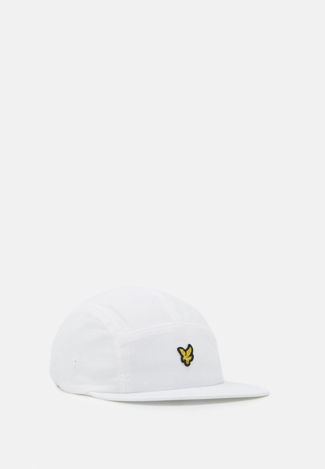 FIVE PANEL CAP - Lippalakki - white