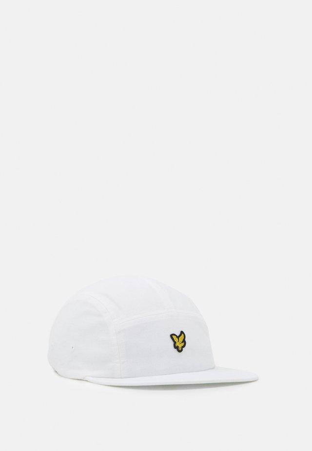 FIVE PANEL CAP - Kšiltovka - white