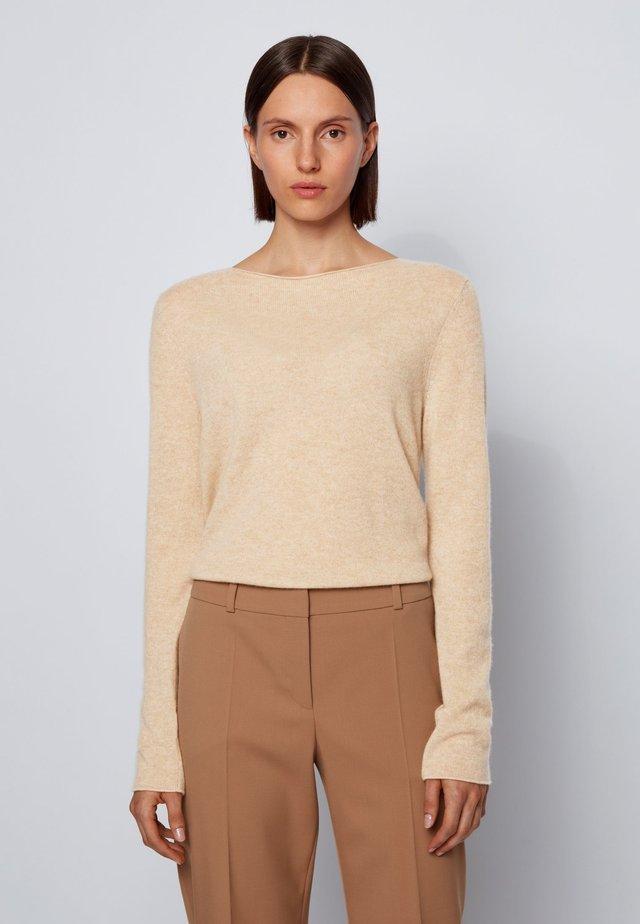 Jumper - light beige