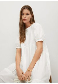 Mango - MED VOLANG - Day dress - offwhite - 5