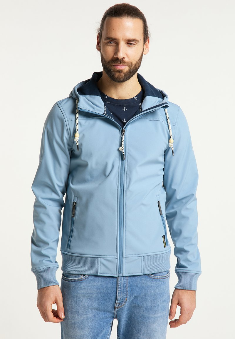 Schmuddelwedda - Soft shell jacket - denimblau