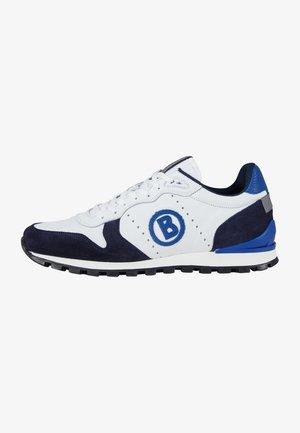 Trainers - blau weiß