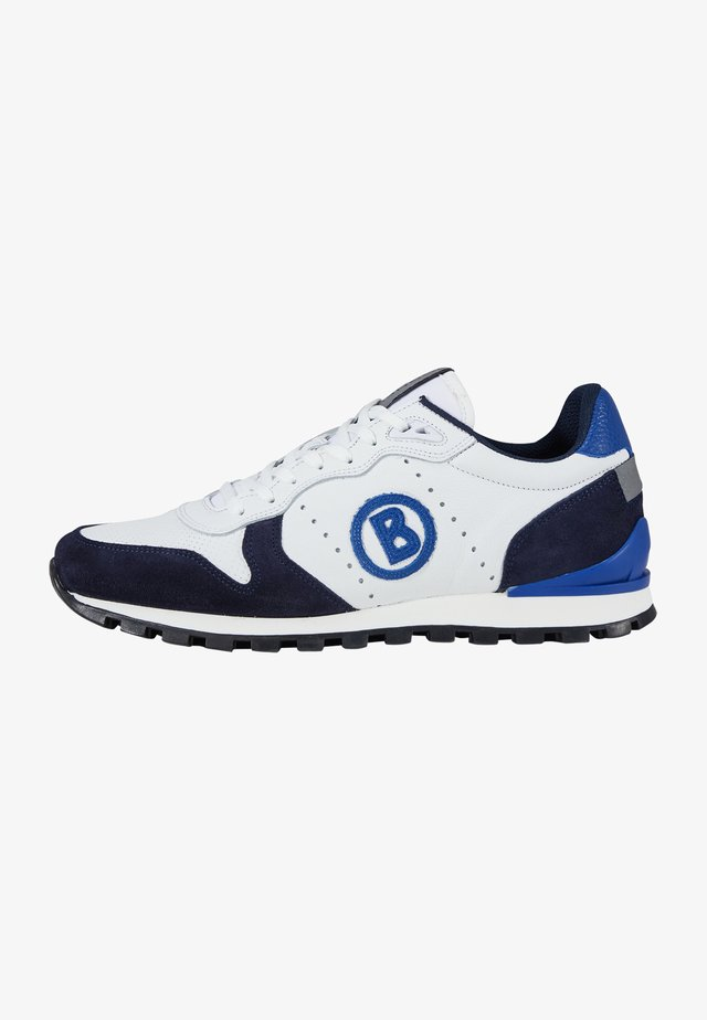 Sneakersy niskie - blau weiß