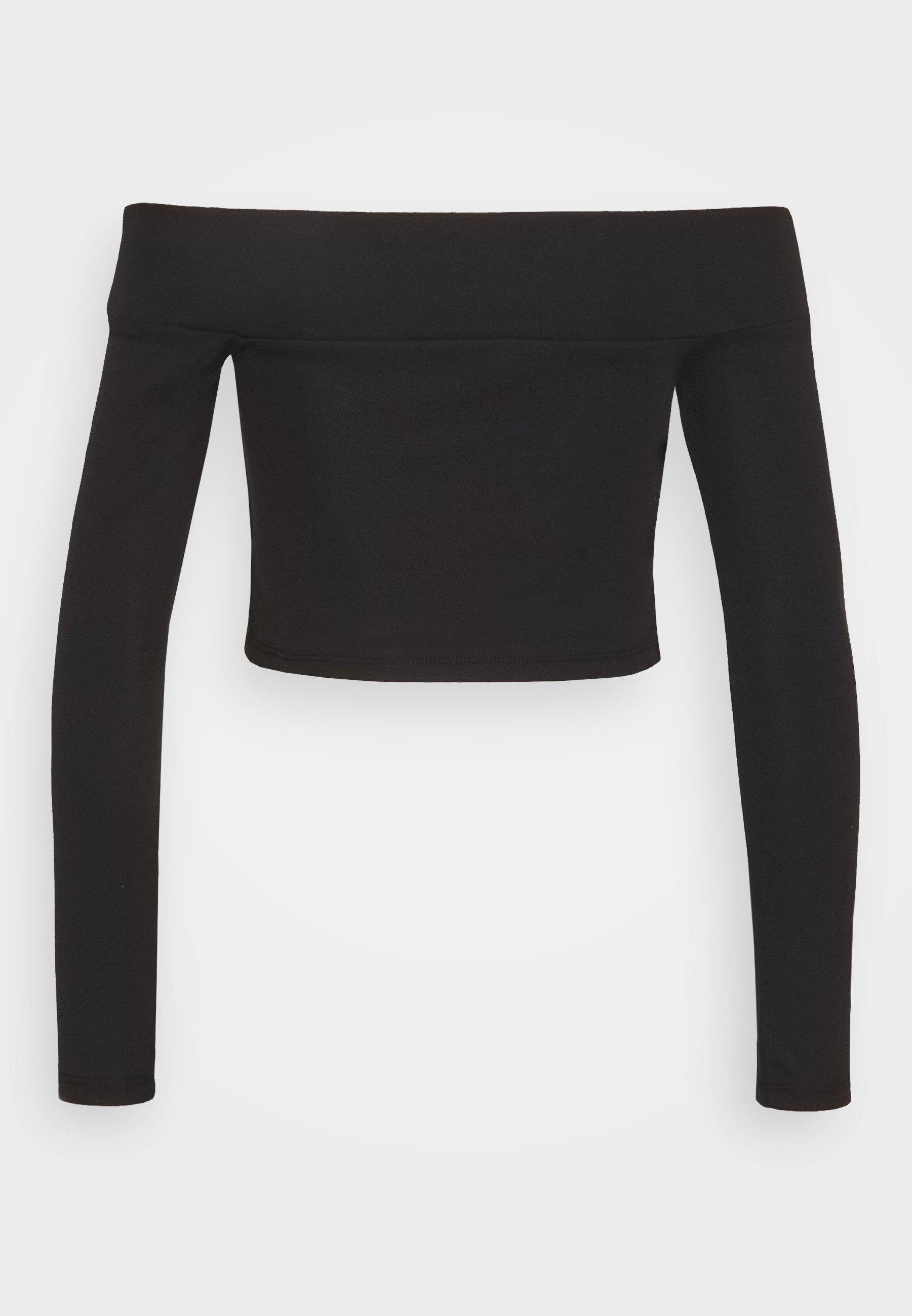 Women SLASH PONTE BARDOT - Long sleeved top