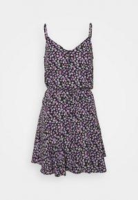 Pieces Petite - PCNYA SLIP BUTTON DRESS - Day dress - black - 0