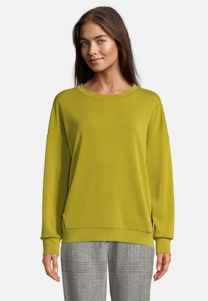 Sweatshirt - pea green