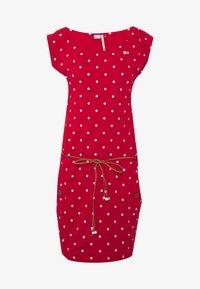 Ragwear - TAG DOTS - Jersey dress - red - 4