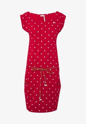 TAG DOTS - Sukienka z dżerseju - red