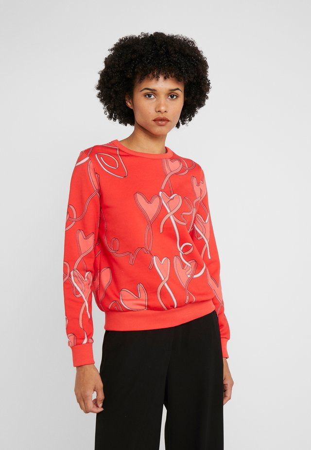 ZALANDO X ESCADA SPORT  - Sweatshirt - red
