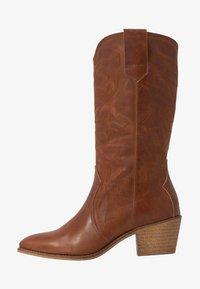 RE:DESIGNED - RYLEE - Cowboy/Biker boots - cognac - 1
