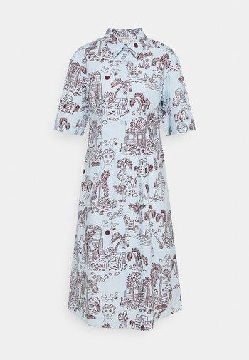 ALOE DRESS - Skjortekjole - light blue
