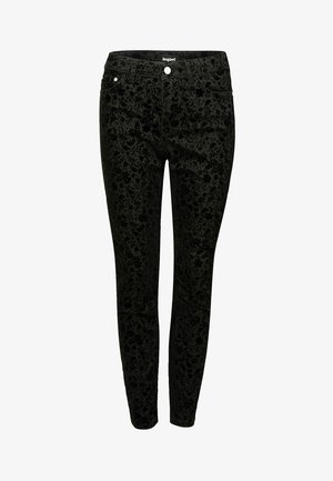 PANT_ROSENDA - Jeansy Slim Fit - black