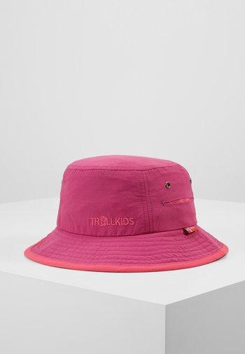 KIDS TROLLFJORD HAT - Hat - dark rose/magenta