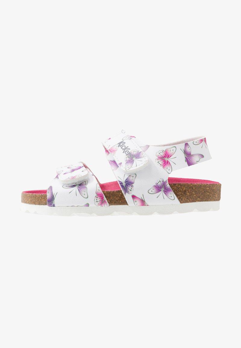 Kickers - SUMMERKRO - Sandals - blanc