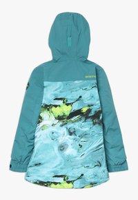 Burton - COVERT - Snowboardjacka - blue/green - 1