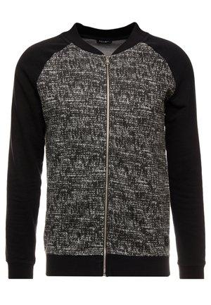 BULLDOG  - Zip-up hoodie - black