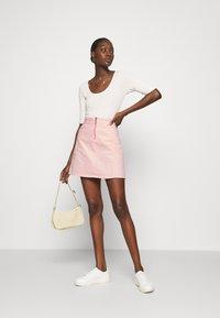 LTB - LEMIA  - Mini skirt - coral blush wash - 1