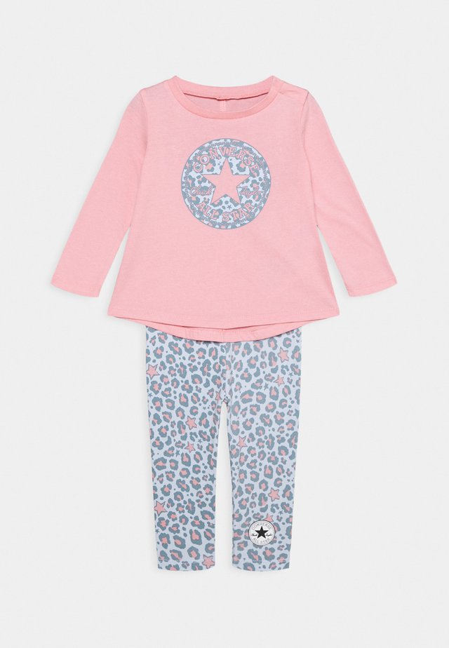 LEOPARD SET - Legging - coastal pink