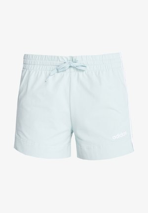 ESSENTIALS 3STRIPES SPORT 1/4 SHORTS - Sports shorts - light green