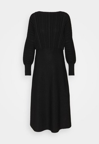 PROCIDA - Vestido de punto - black