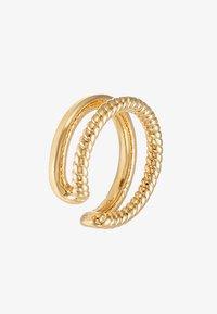 Orelia - DOUBLE EAR CUFF - Náušnice - pale gold-coloured - 3