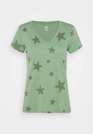 T-shirt imprimé - olive