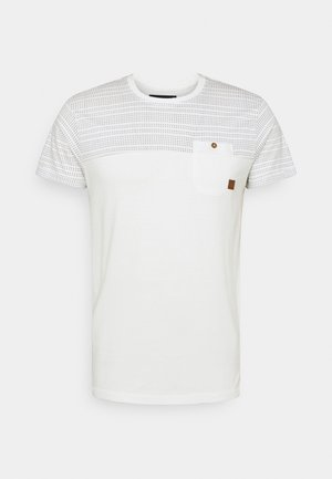 FOSTER - T-shirt med print - offwhite