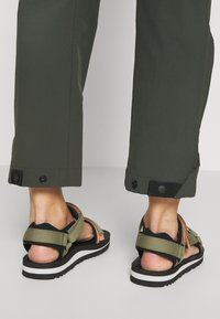 adidas Performance - HIKE TECHNICAL HIKING PANTS - Stoffhose - dark green - 4