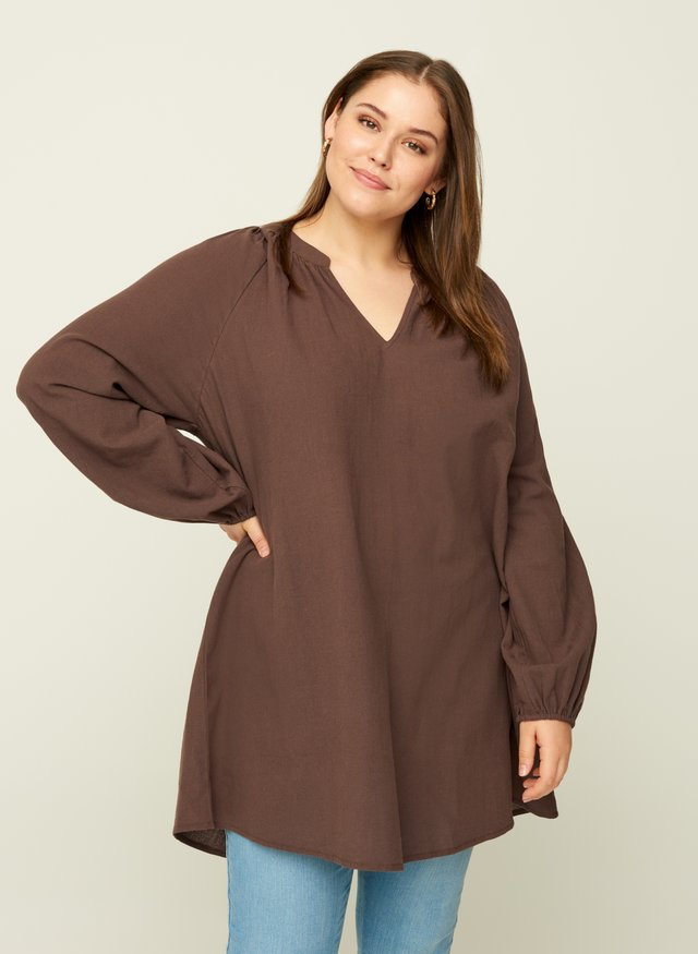 Tunic - brown