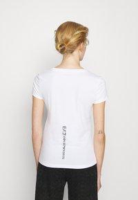 EA7 Emporio Armani - T-Shirt print - white/black - 2