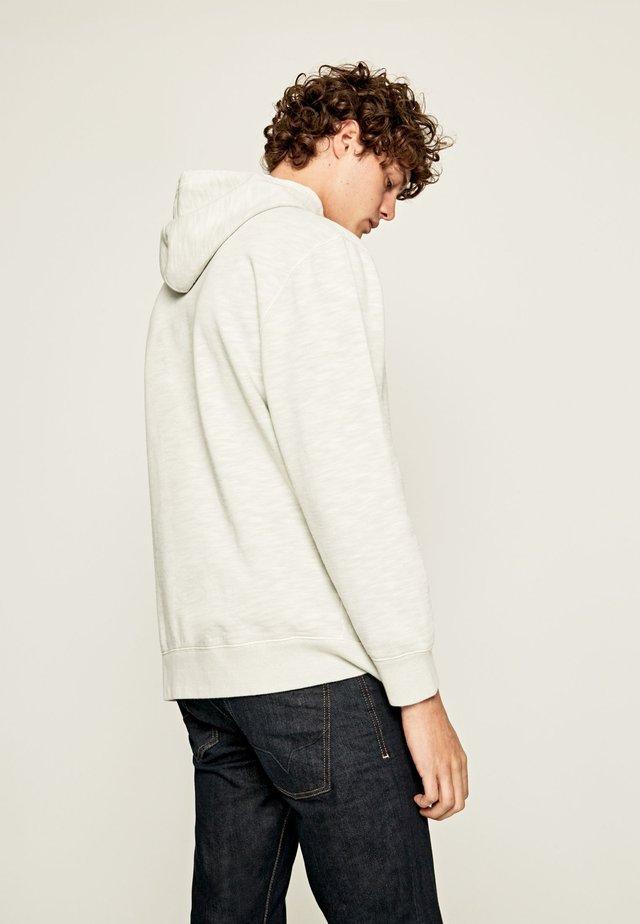 ANSEL - Jersey con capucha - white