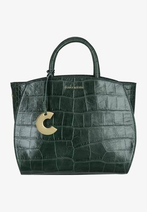 CONCRETE CROCO MAXI - Handbag - mallard green